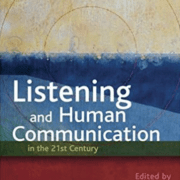 Listening and Human Communications book cover