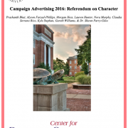 White Paper - 2016 Presidential Campaign Advertising