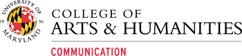 College of arts and Humanities Communication logo